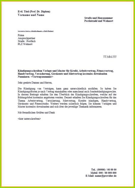 Ausgezeichnet Kreditvereinbarung Vorlage Kostenlos Galerie