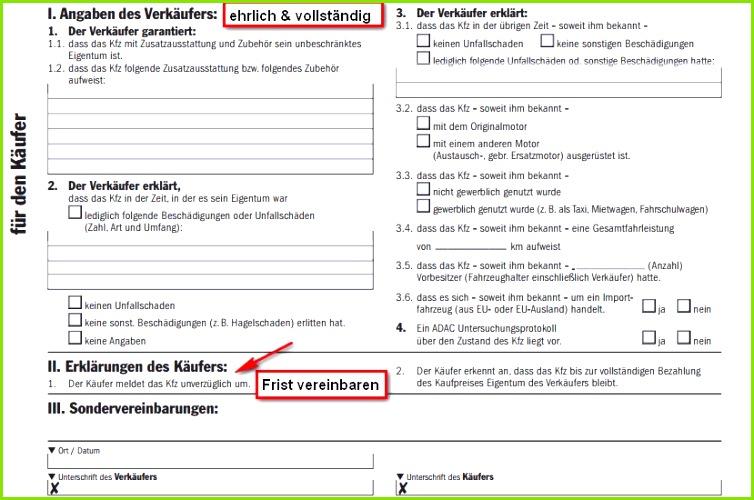 Erfreut Fahrzeugkaufvertrag Vorlage Bilder Dokumentationsvorlage
