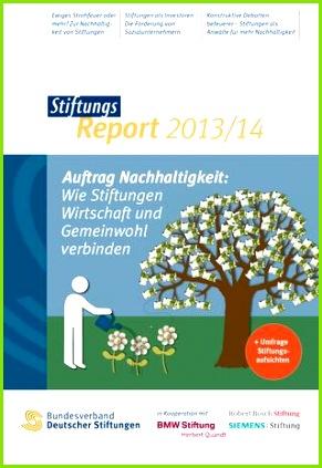 Daten und Fakten zur deutschen Stiftungslandschaft anschaulich aufbereitet Der jährlich erscheinende StiftungsReport ist ein unverzichtbares Werk für