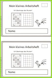 Lernstübchen Muster übertragen 4 2 Klasse Volksschule Unterricht Ideen