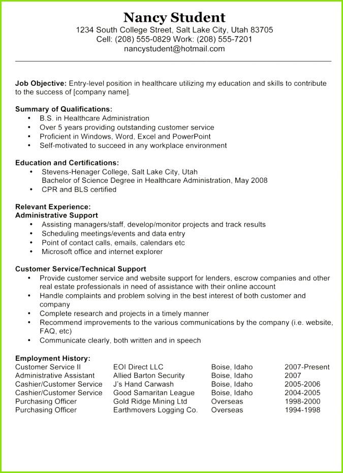 8 New Job Objective Examples