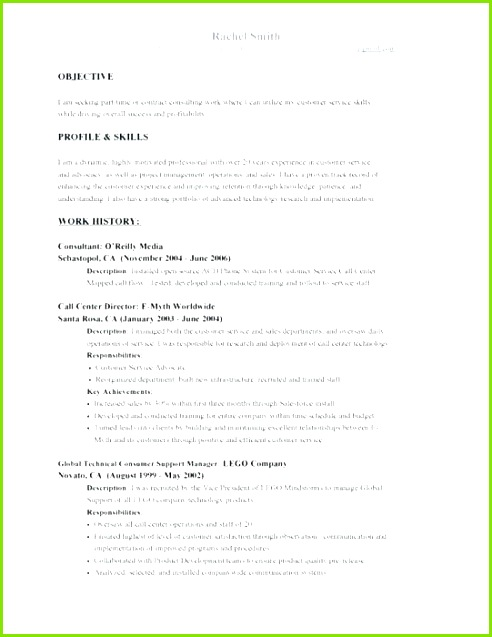 Job Objective Examples Fresh 24 Resume Objective Examples It Support