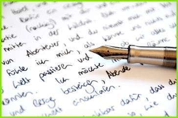 Liebesbrief Füllhalter Brief Füller