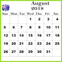 August 2018 Calendar Australia With Holidays Printable Calendar August 2018 Australia 2018 August Calendar Australia August 2018 Calendar With Australia