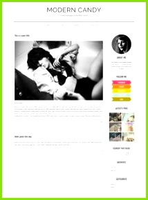 Check out Modern Candy Fashion WordPress Theme by Mlekoshi Playground on Creative Market Blog
