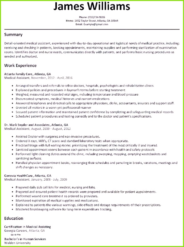 Word Template Resume Awesome Resume Template Free Word New Od Specialist Sample Resume Resume For Hi