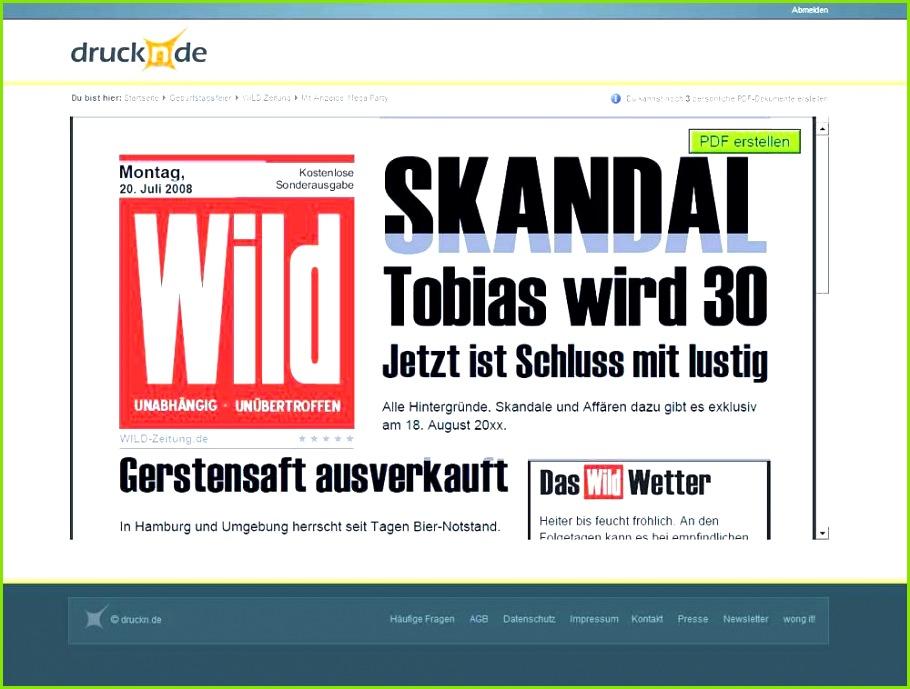 Zeitung Vorlage Word