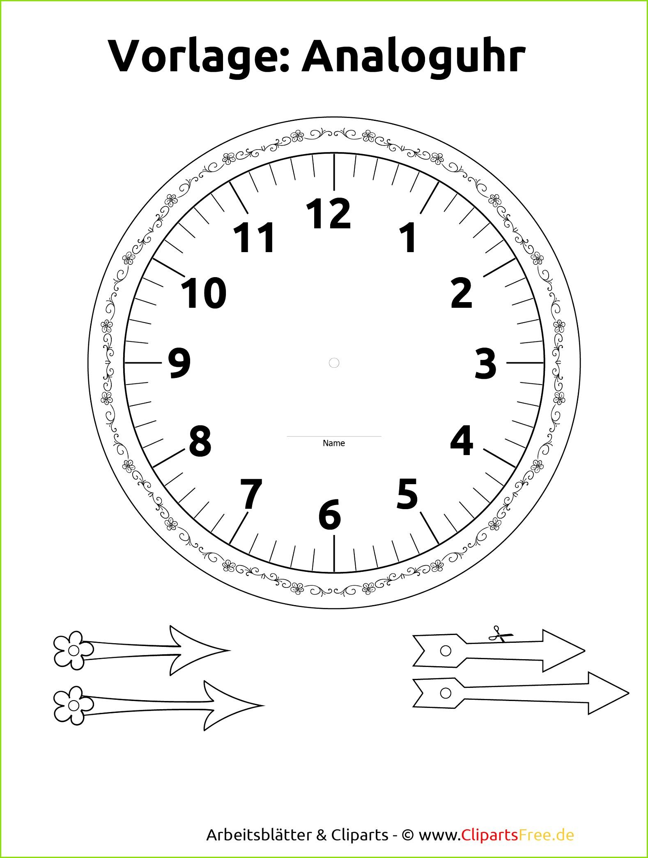 Zifferblatt Selbst Gestalten Ausdrucken bei Uhr Zum Ausdrucken
