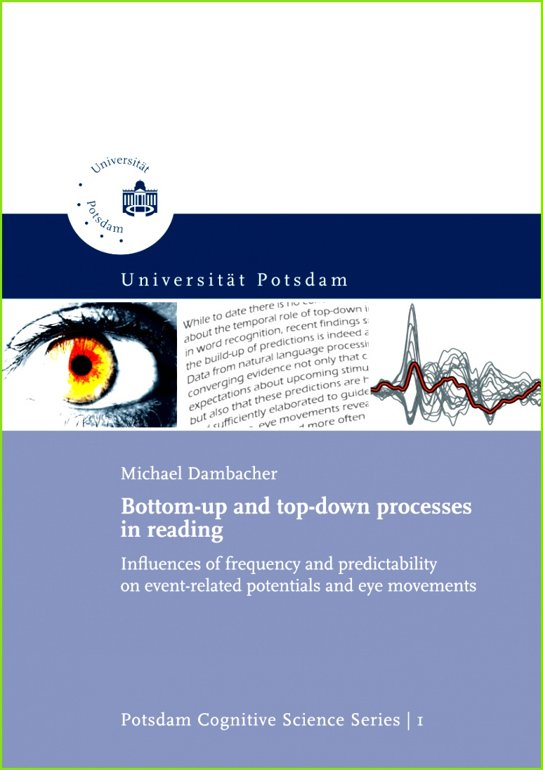 PDF Bottom up and top down processes in reading influences of frequency and predictability on event potentials and eye movements