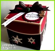 Pustepapier 15 Minuten Weihnachten in der Box mit Tannenbaum t