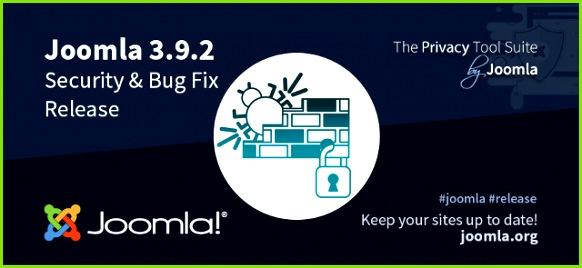 Joomla 3 9 2 Security and Bug Fixes release