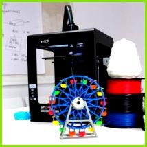 Free Ferris Wheel 3D model Zortrax Riesenrad