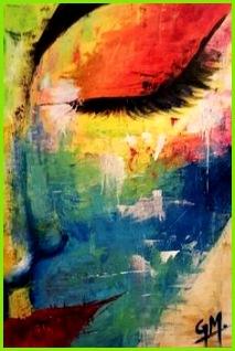 Künstlerische abstrakte Malerei Ideen für Anfänger
