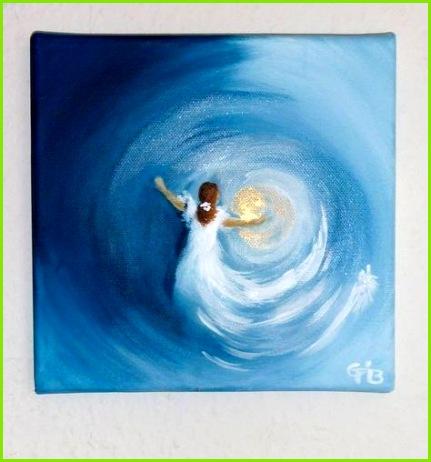 Moderne Deko Idee Zeitgenössisch Acrylbilder Ideen Nettis Art Acrylbild Kunst Leinwand Handgemalt Malerei Keilrahmen Für Anfänger