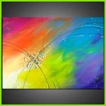 EventART MAYA LEBENSLUS Gemälde Bilder Acryl Abstrakt Wandbild Acrylbild Malerei in Antiquitäten & Kunst Direkt vom Künstler Bildende Kunst