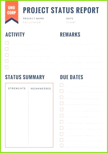 Weekly Status Report Template Status Report Template Professional Report Template 0d Wallpapers 44