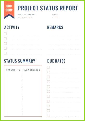 Weekly Status Report Template Status Report Template Professional Report Template 0d Wallpapers 44