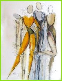 """Angela Fusenig """"Figurbetont"""" Mit einem Klick auf Als Kunstkarte versenden versenden Sie kostenlos ses Werk Ihren Freunden und Bekannten"""