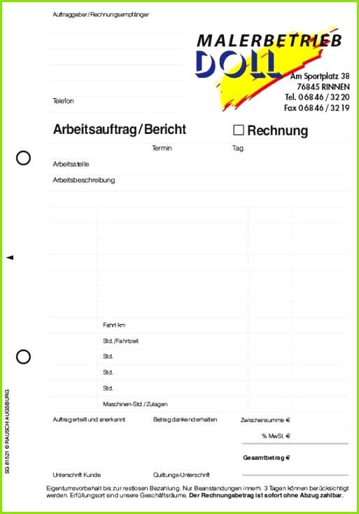 Word formular Vorlage Schön formular Arbeitsauftrag Das Auftragsformular