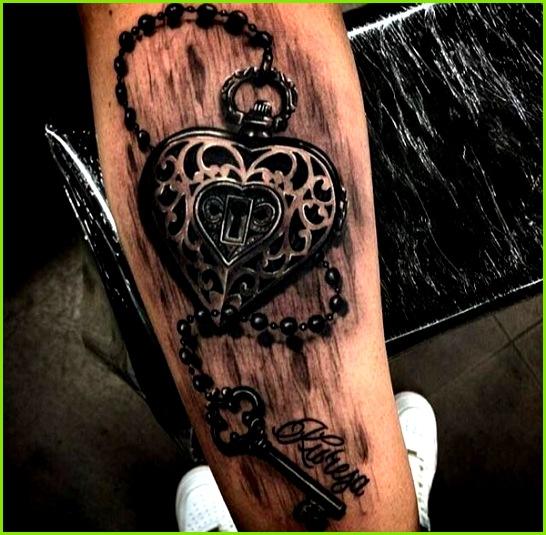 50 Inspiring Lock and Key Tattoos