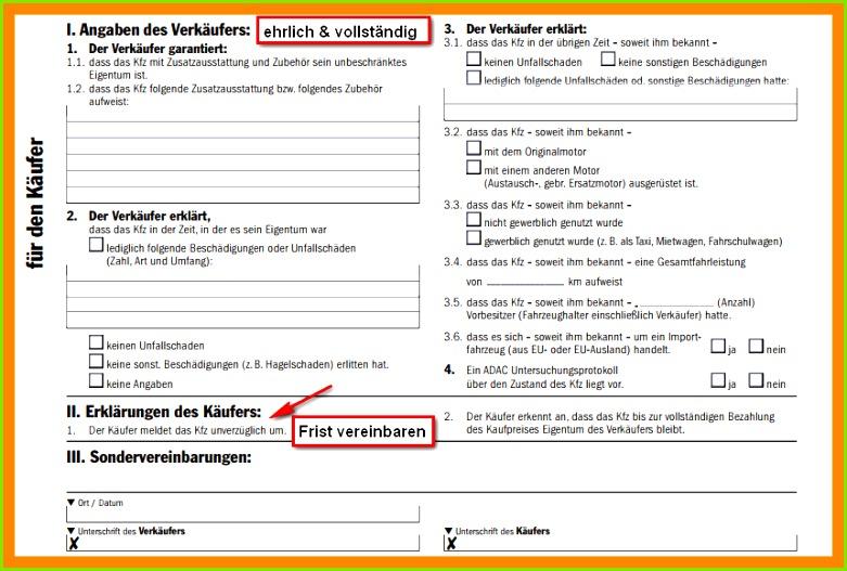 Kaufvertrag Auto Privat Ohne Garantie 15 Autoverkauf Vertrag Muster Privat