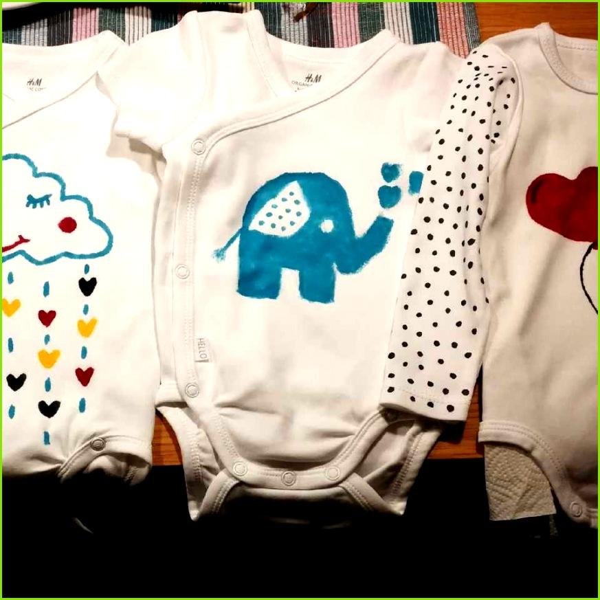 Body bemalen blauer Elefant Herz Babyparty
