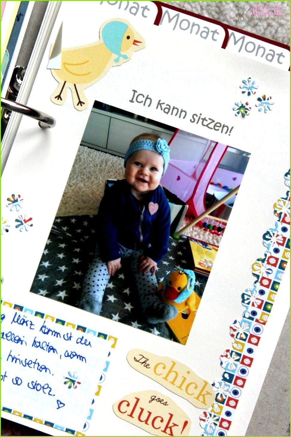 ullatrulla backt und bastelt DIY Babyalbum selber gestalten Gewinnspiel geschlossen Diy Geschenke Foto