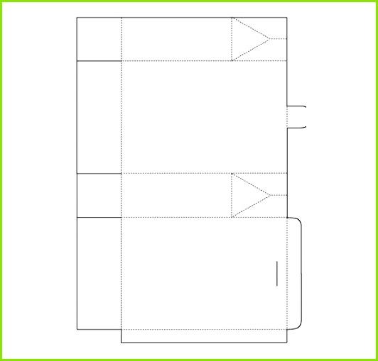 Paper Bag Template Free Download