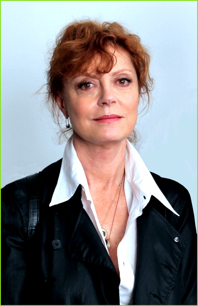 Susan Sarandon at the set of American Mirror cropped and edited