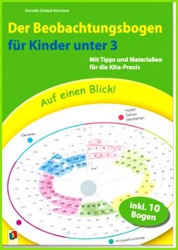 Der Beobachtungsbogen für Kinder unter 3 Mit Tipps und Materialien für Kita Praxis Unsere praxiserprobten Beobachtungsbögen bieten Ihnen ideale