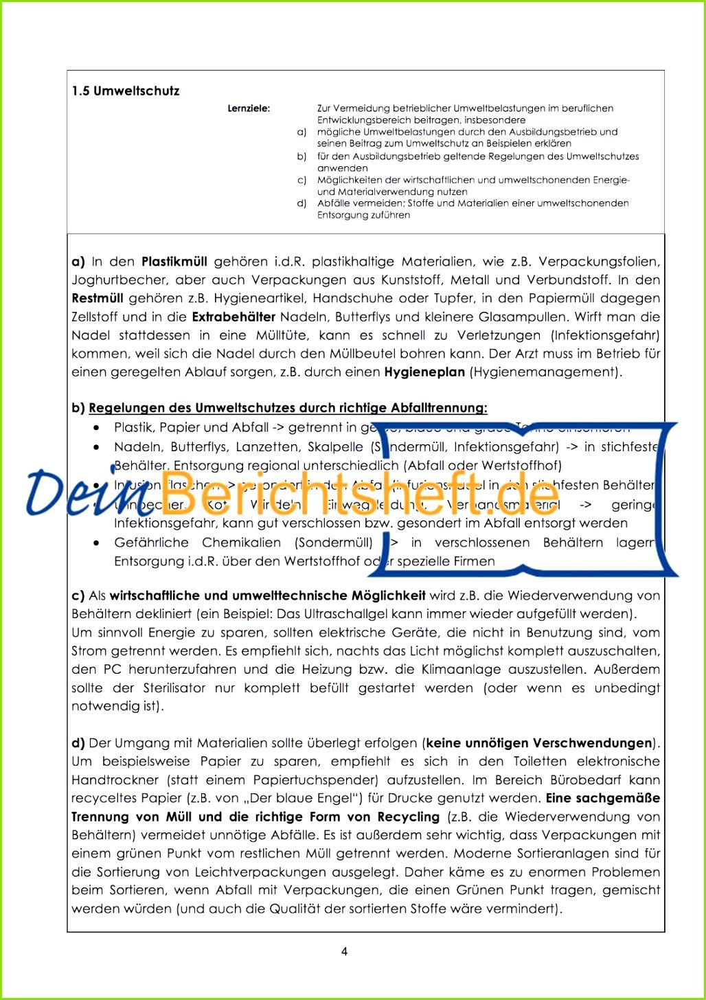 3 von 11 Das MFA Berichtsheft als Musterlösung inkl BEDIENUNGSANLEITUNG