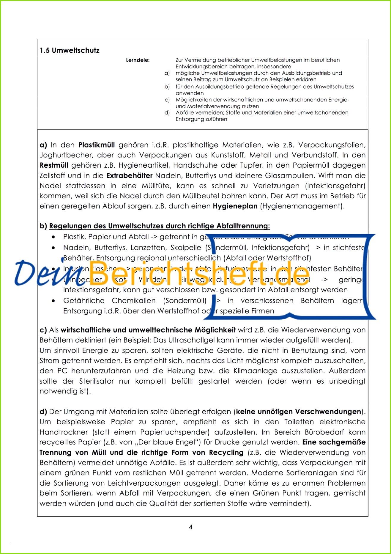 Berichtsheft Vorlage Einzelhandel Aufnahme – Berichtsheft Best Bewerbung Muster Einzelhandel