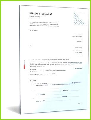 Berliner Testament Einheitslösung DOC Ehegattentestament [Download]