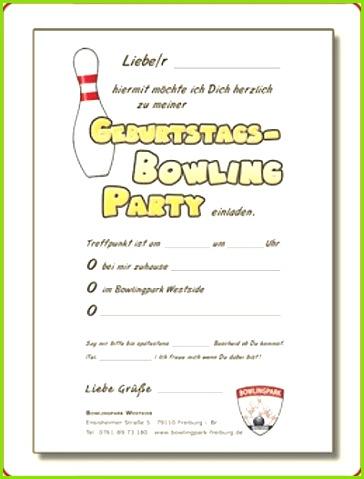 Einladung Bowling Einladungen Mit Foto Coole Einladungen 0d