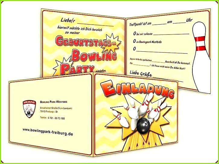 18 Wunderbar Bowling Einladung Vorlage Kostenlos Bilder