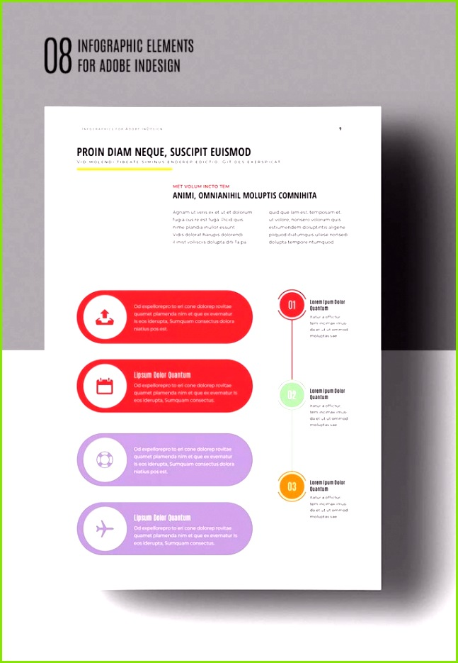 Infographic Elements for Adobe Indesign Vol 3 30 Lovely Adobe Indesign Resume Template