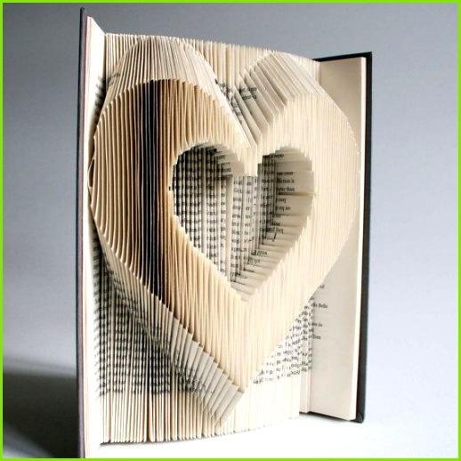Herz Buch Falten Muster Schnitte Plus von LoveBookFolding auf Etsy
