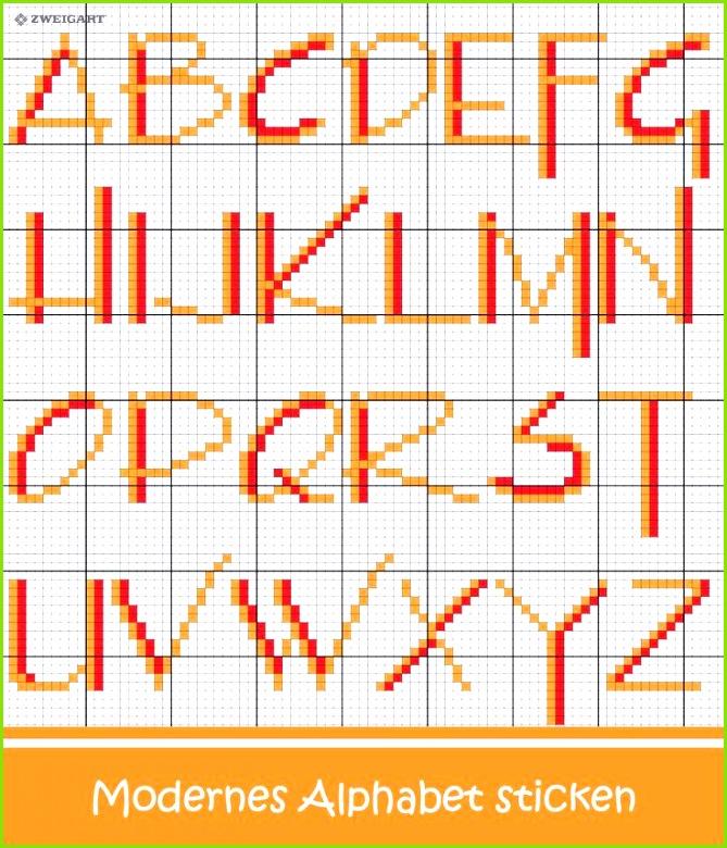 Buchstaben Sticken Kreuzstich Sticken Kreuzstich Vorlagen Kostenlos