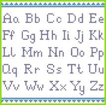 Grafiken von vorzeichen unterzeichnen aussaat Buchstaben Sticken Sticken Kreuzstich Stiche