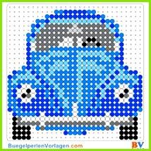 Auto VW Käfer Bügelperlen Vorlage Auf buegelperlenvorlagen kannst du eine große Auswahl
