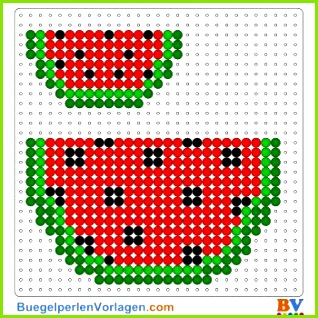 Wassermelone Bügelperlen Vorlage Auf buegelperlenvorlagen kannst du eine große Auswahl an Bügelperlen Vorlagen