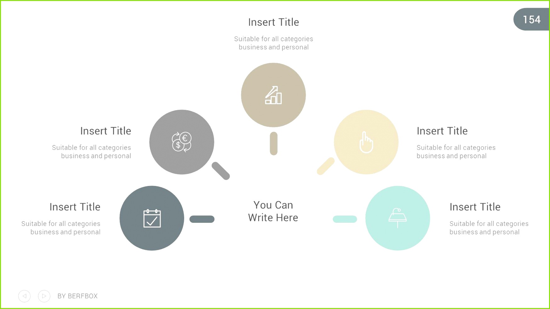 Clearly Business Powerpoint Presentation Template Powerpoint Business Template Presentation