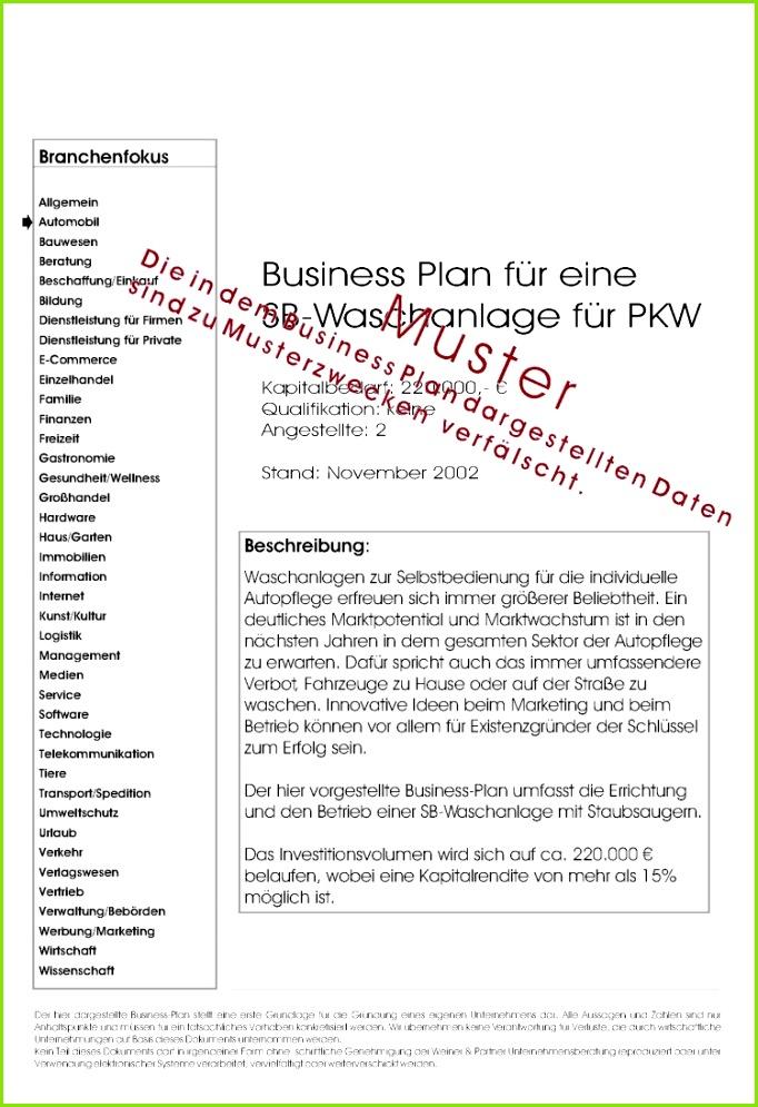 12 Businessplan Vorlage Kostenlos