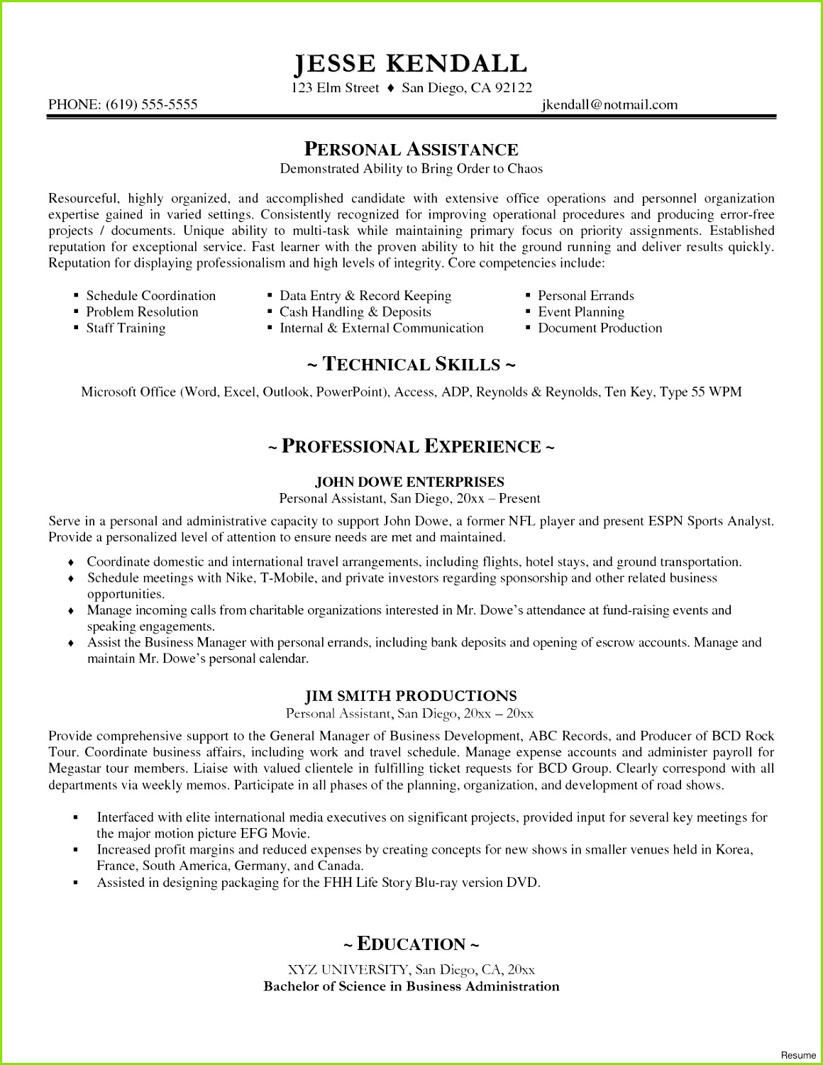 Word 2007 Resume Template Best Executive Resume Templates Word Od Specialist Cover Letter Lead