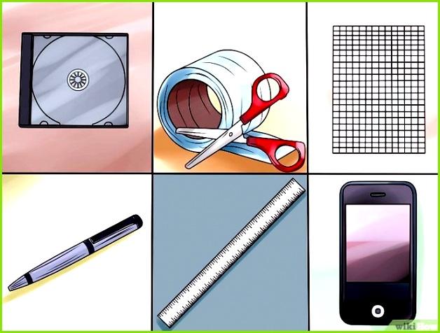 Bildtitel Make a Hologram Step 1 Ein Hologramm erzeugen – wikiHow Cd Hulle Vorlage