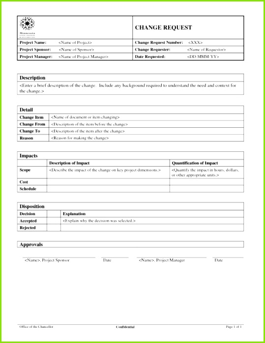 change order template excel free