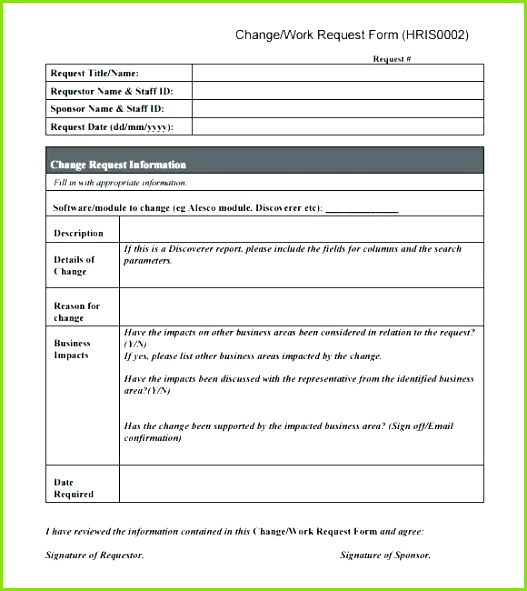 User Access Request Form Template Elegant Order Templates Free Word