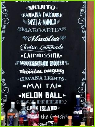 Generations Riviera Maya by Karisma Drink suggestion menu they can make you anything