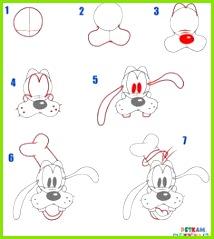Goofy Disney zeichnen lernen ictiere zeichnen lernen Zeichnen lernen ic Zeichnen Lernen
