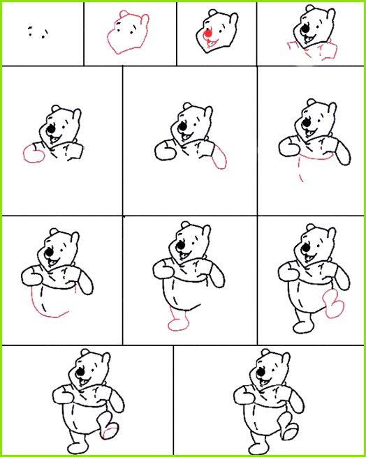 Winnie the Pooh · Zeichnen Lernen ic